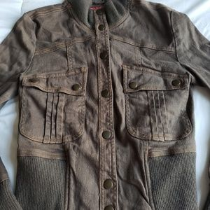 Jackets & Blazers - Dark green/brownish jacket